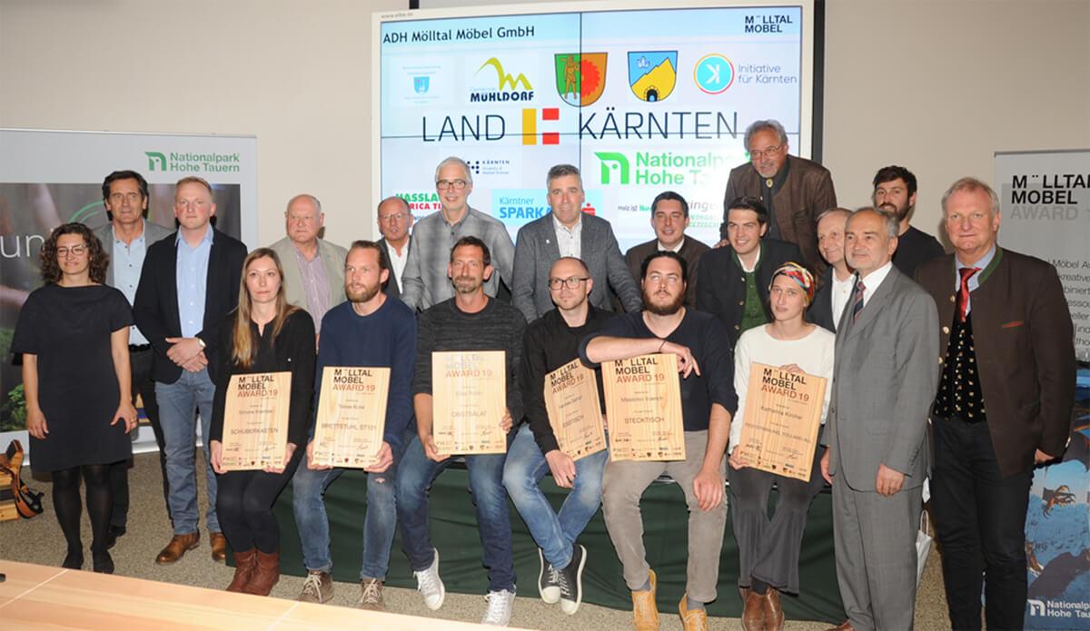 Besucherzentrum Mallnitz startet mit Prämierung des Mölltaler Möbel Awards in die Saison
