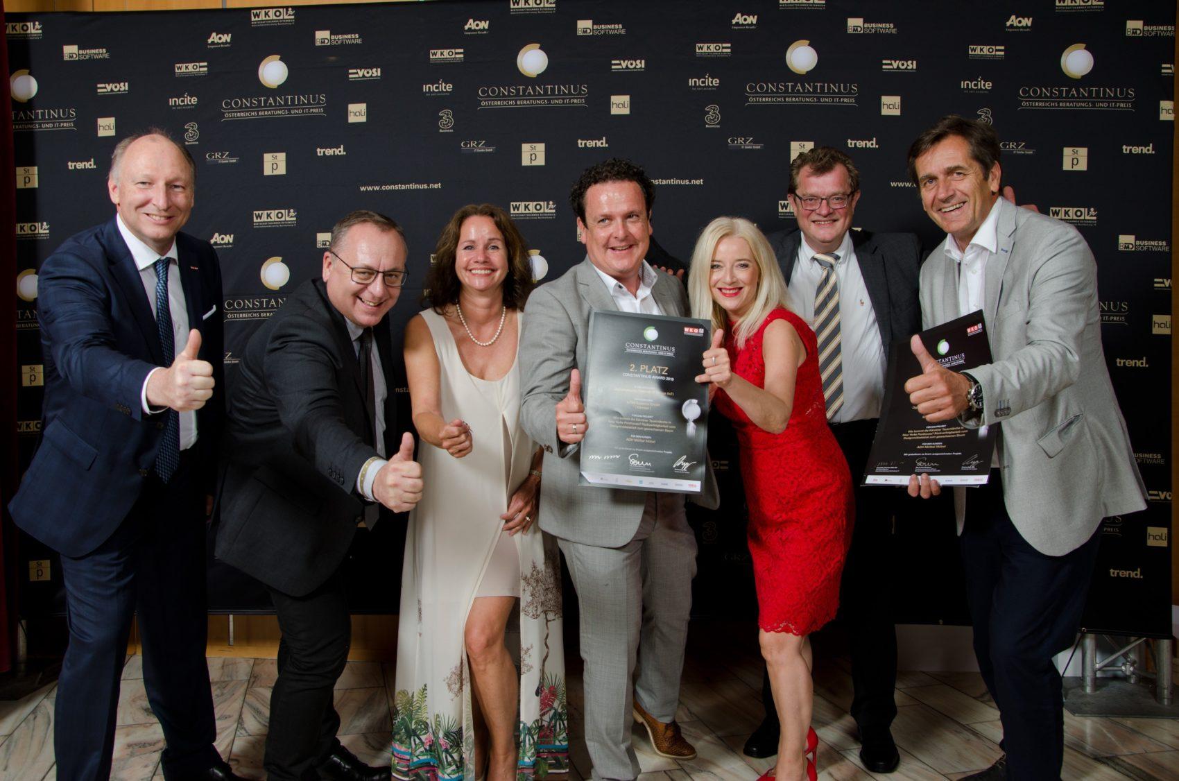 ADH Mölltal Möbel und IoT40 Systems gewinnt den 2. Platz beim Constantinus 2019!