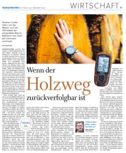 Salzburger Nachrichten – Wenn der Holzweg zurückverfolgbar ist